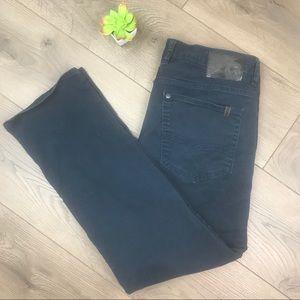 BUFFALO DAVID BITTON Sam-X Dark Blue Jeans 32 X 30